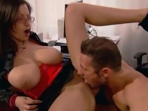 Big Natural Tits Working Sex