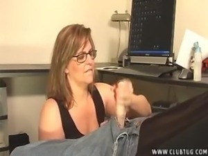 Mature Lady Takes Care Of A Young Dick free