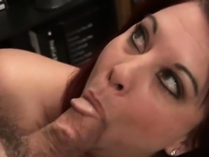 Huge dick for sexy plump