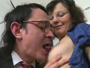 Blowjob for older teacher