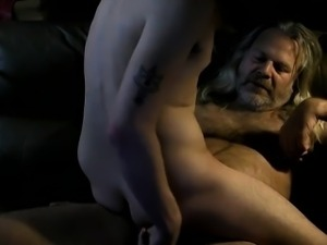 Riding Daddy Dick On Cam