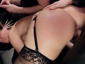 Horny student intense anal