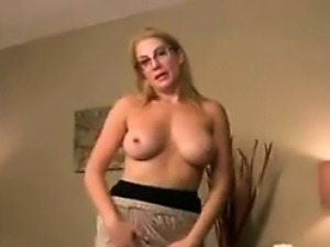 Mother In Law Showing Off Her Breasts