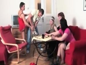 Dirty horny mature women go crazy part3