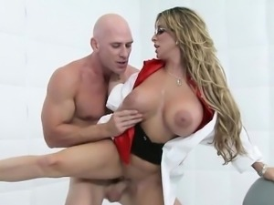 Holly Halston and Doc Fuck