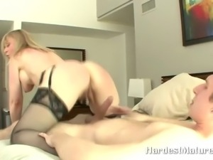 lonely blonde housewife nailed hard