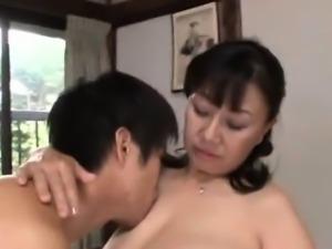 Big tits mom enjoys hardcore