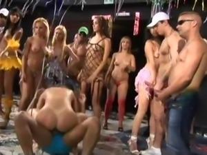 wild brazilian anal party orgy