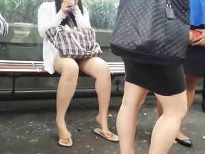 Bare Candid Legs - BCL#056