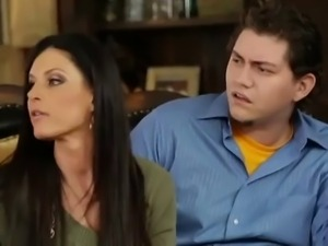 Angry Husband Watches Wife With BBC