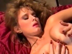 Classy blonde bare and fucking penis