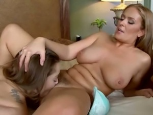 Two busty mature lesbians finger fucking eachother