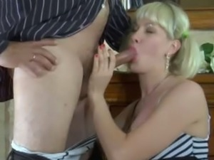 Old dude wants some fresh pussy from busty Natali