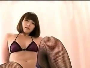 Adorable Horny Asian Babe Fucking