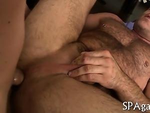Provocative homosexual oral-sex