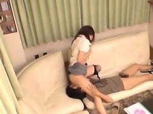 Adorable Hot Asian Babe Having Sex