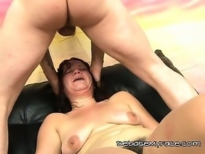 Choking A Lusty Mom With Hillbillys Big Dick