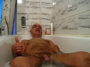 fun in bathroom