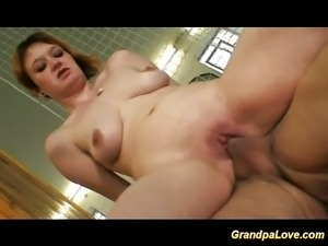 Sports trainer fucks young chick