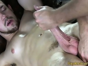 Straight amateur jock dick gay massaged