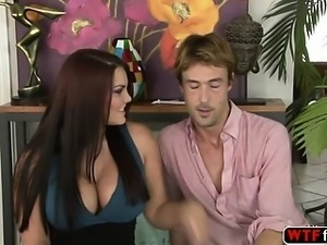 Lucky stepson fucked Mackenzee Pierce