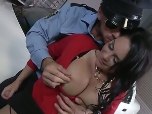 Horny policeman Johnny Sins bangs buxom MILF Dayton Rains
