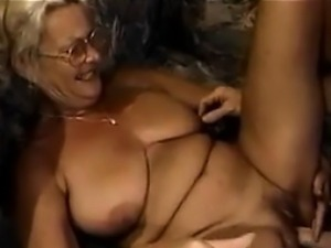 Horny Granny Riding Her Big Son In Law