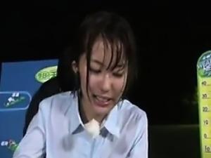 Hot Asian Weather Woman Fucking Live