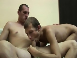 Latin Horny Gay Blast Cum After a Nice Sex