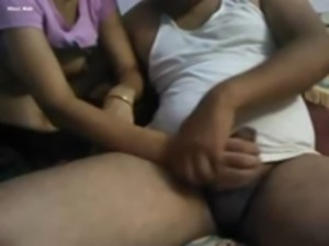 Wife Out and Mature Uncle Playing With Saalii free