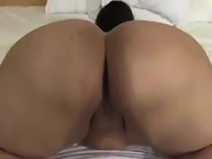 Latin Woman With A Big Ass Being A Tease
