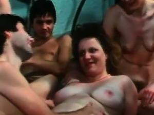 Classic German hardcore group sex of Heidi porn