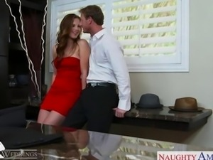 Sexy Jillian Janson gets fucked at a wedding