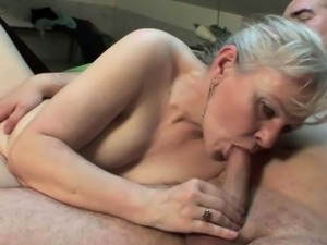 Grandma\'s old pussy craves hard cock