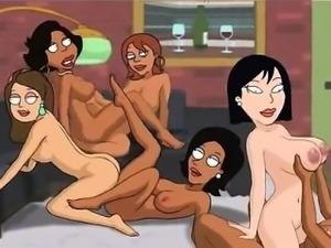 Family Guy Porn - Backyard lesbians