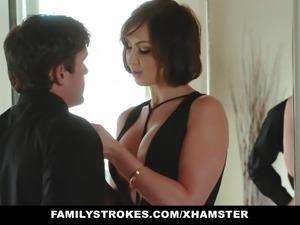 FamilyStrokes-   Kinky Aunt Fucks Step-Nephew