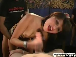 Beautiful Adina bukkake Expert - German Goo Girls