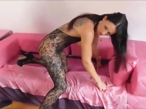 Tattooed slut threesome