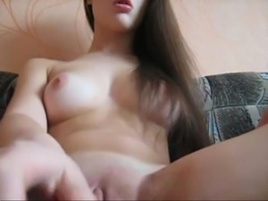 18yo Girl Masturbate On Webcam