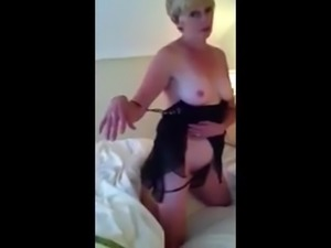 Yes she is 54 hot and horny