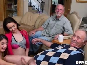 Gigi Flamez and Sally Squirt - Blue Pill Men