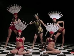 Gorgeous porn model Kristina Rose takes part in funny parody scene