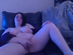 BBW Fun on the Couch