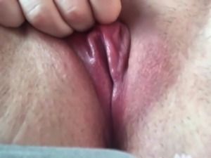 Close up pussy orgasm