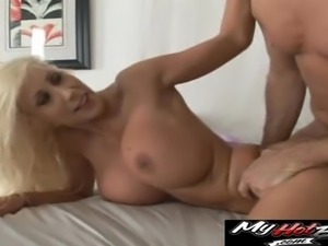 Puma Swede has double D knockers attracting any men