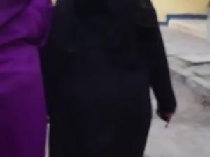 Candid arabic ass 1