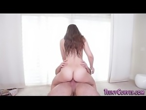 Big booty slut gets cock