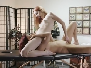 stunning lesbian sex @ lesbian massage #02