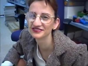 Mature Secretary Anal Work