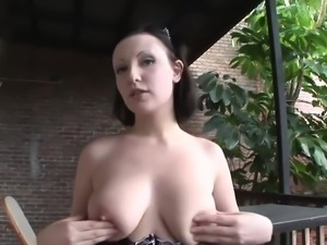 NAKED GIRL WITH NICE BOOBS